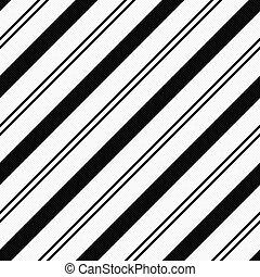 tissu, arrière-plan noir, textured, rayé, blanc