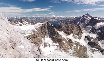 titlis, suisse, glacier