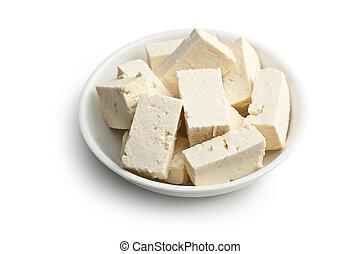 tofu, céramique, bol
