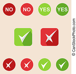 toile, chèque, icônes, solide, icons., marque, mobile, applications, avion, long, shadows)., (design
