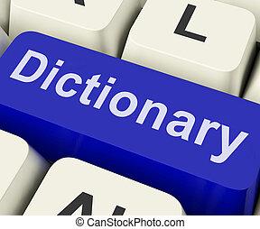 toile, référence, dictionnaire, définition, clã©, ligne, ou, spectacles