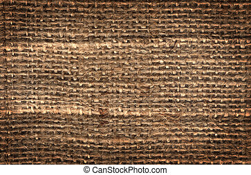 toile sac, texture