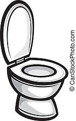 (toilet, bowl), toilette