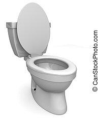 toilette, 3d