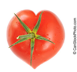 tomate, forme coeur