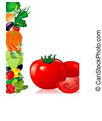 tomate, légumes
