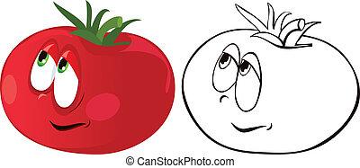 tomate, mûre