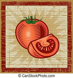 tomate, retro