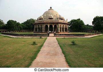 tombe humayan, delhi, inde