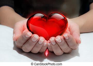 ton, coeur, donner