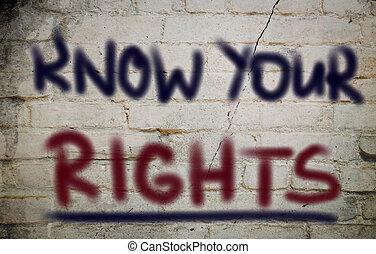 ton, droits, concept, savoir