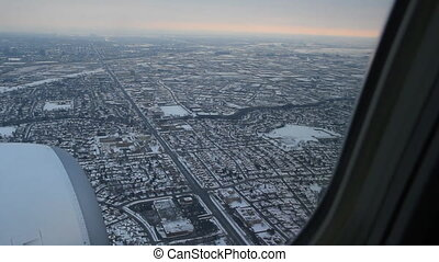 toronto, approach., 2., 2, hiver