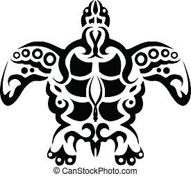 tortue, tatouage