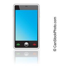 touchscreen, résumé, smartphone