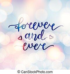 toujours, jamais