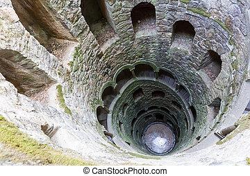 tour, escalier, spirale