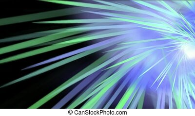 tourbillon, rayon, espace, lumière