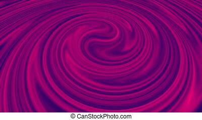 tourbillon, rendre, informatique, fond, circulaire, colors., spirale, liquide, 3d, generated., résumé, fusion