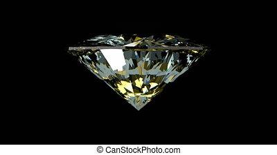 tourner, diamant, loopable