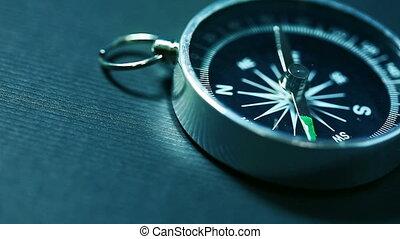 tourner, flèche, compas