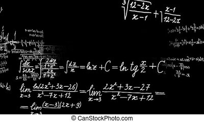 tourner, mouvement, graphics., math