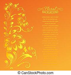 tournesol, flower.