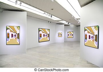 tout, art, juste, mur, images, ceci, 3., photo, filtré, entier, galerie