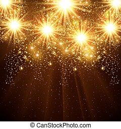 tout, editable, fond, vecteur, facile, année, 2015, nouveau, célébration, heureux