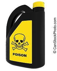 toxic!, boîte, poison