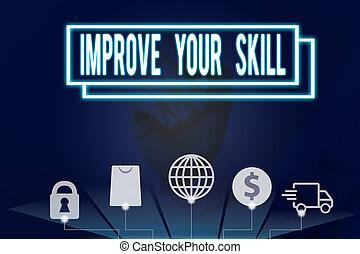 très, skill., ouvrir, texte, conceptuel, bon, main, améliorer, écriture, photo, potentials, excellent, mastery., ton, projection, business