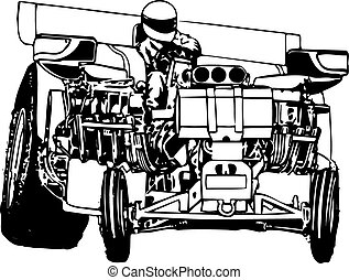 tracteur, traction