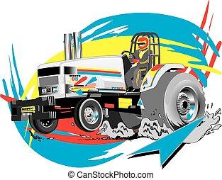 traction, tracteur