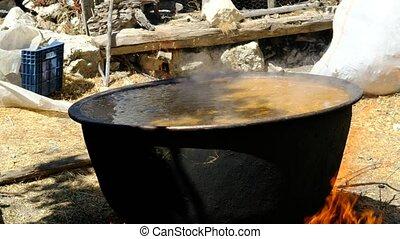traditionnel, blé, cuisine