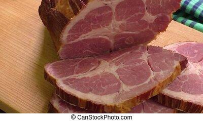 traditionnel, fumé, viande