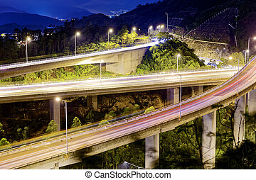traffic., soir