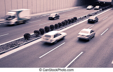 trafic ville