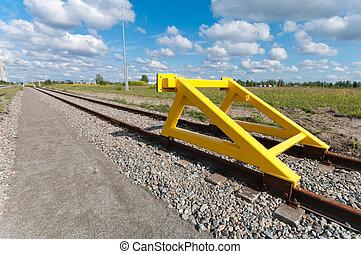 train, arrêt