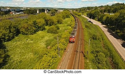 train ferroviaire, fret