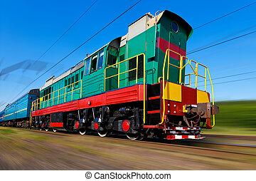 train grande vitesse, diesel