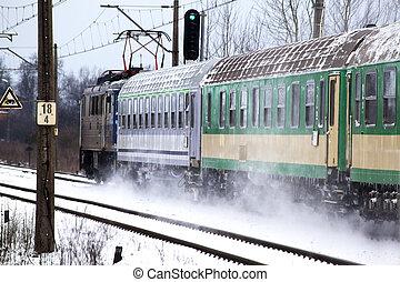 train passager