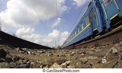 train, promenades, rails