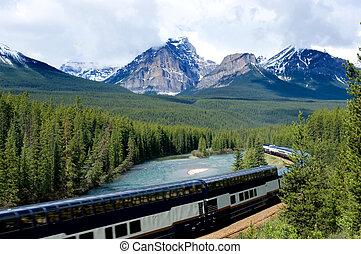 train, vacances