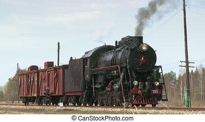 train vapeur, locomotive