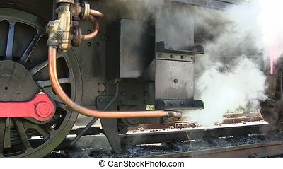 train., vapeur