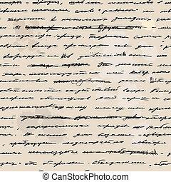 traite, main, text., écrit