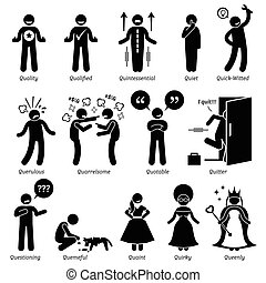 traits, caractère, humain