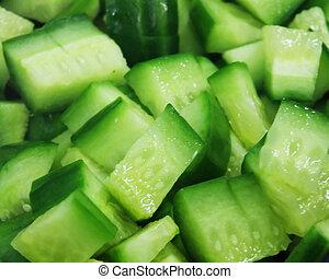 tranches concombre