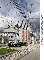 transformateurs, pouvoir électrique