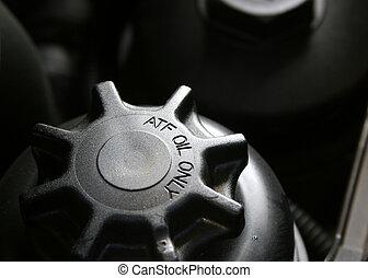 transmission, casquette, automatique, fluide