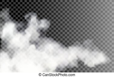 transparent, brouillard, fond